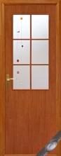 """Двері міжкімнатні """"В"""" Колорі P з малюнком"""