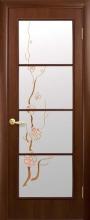 """Двері міжкімнатні Вікторія """"Новий Стиль"""" з малюнком"""