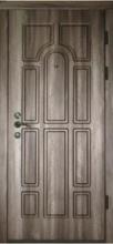 Входные двери Каскад- Арка седой орех