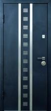 Входные двери Кам-Трейд (Стилгард) Тауэр чёрный