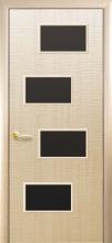 """Двері міжкімнатні Фортіс Делюкс """"Сахара 4S BLK"""""""