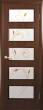 """Двері міжкімнатні Єва """"Новий Стиль"""" з малюнком"""
