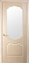 """Двері міжкімнатні  Фортіс Делюкс """"V"""" зі склом"""