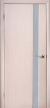 Міжкімнатні двері Глазго-1 Білий дуб
