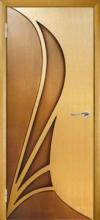 Двери Корона с рисунком