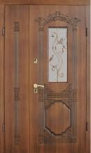Двери полуторные Страж (Ампир R 29) улица