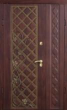 Двери полуторные Страж (Град Лоза) улица
