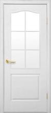 """Двері міжкімнатні """"В"""" Симпли зі склом"""