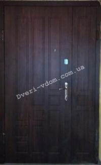 Полуторные двери «Титан Люкс »  (улица).