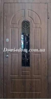 """Входные двери с ковкой """"Элегант-2"""""""